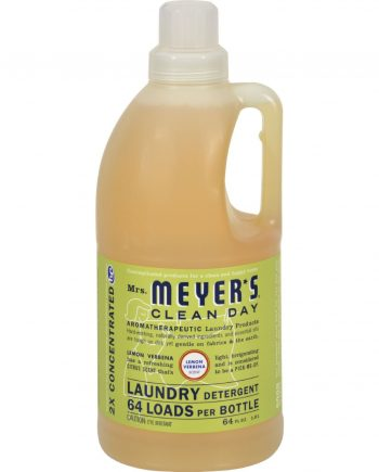 Mrs. Meyer's 2X Laundry Detergent - Lemon Verbana - 64 oz