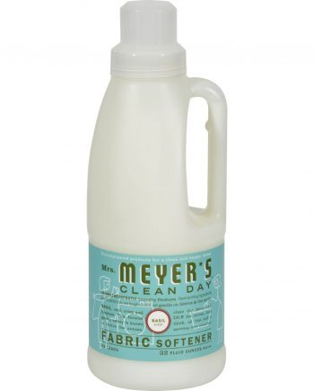 Mrs. Meyer's Fabric Softener - Basil - Case of 6 - 32 oz
