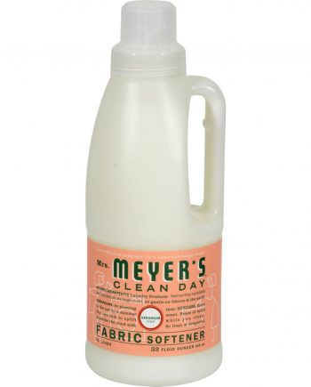 Mrs. Meyer's Fabric Softener - Geranium - Case of 6 - 32 oz