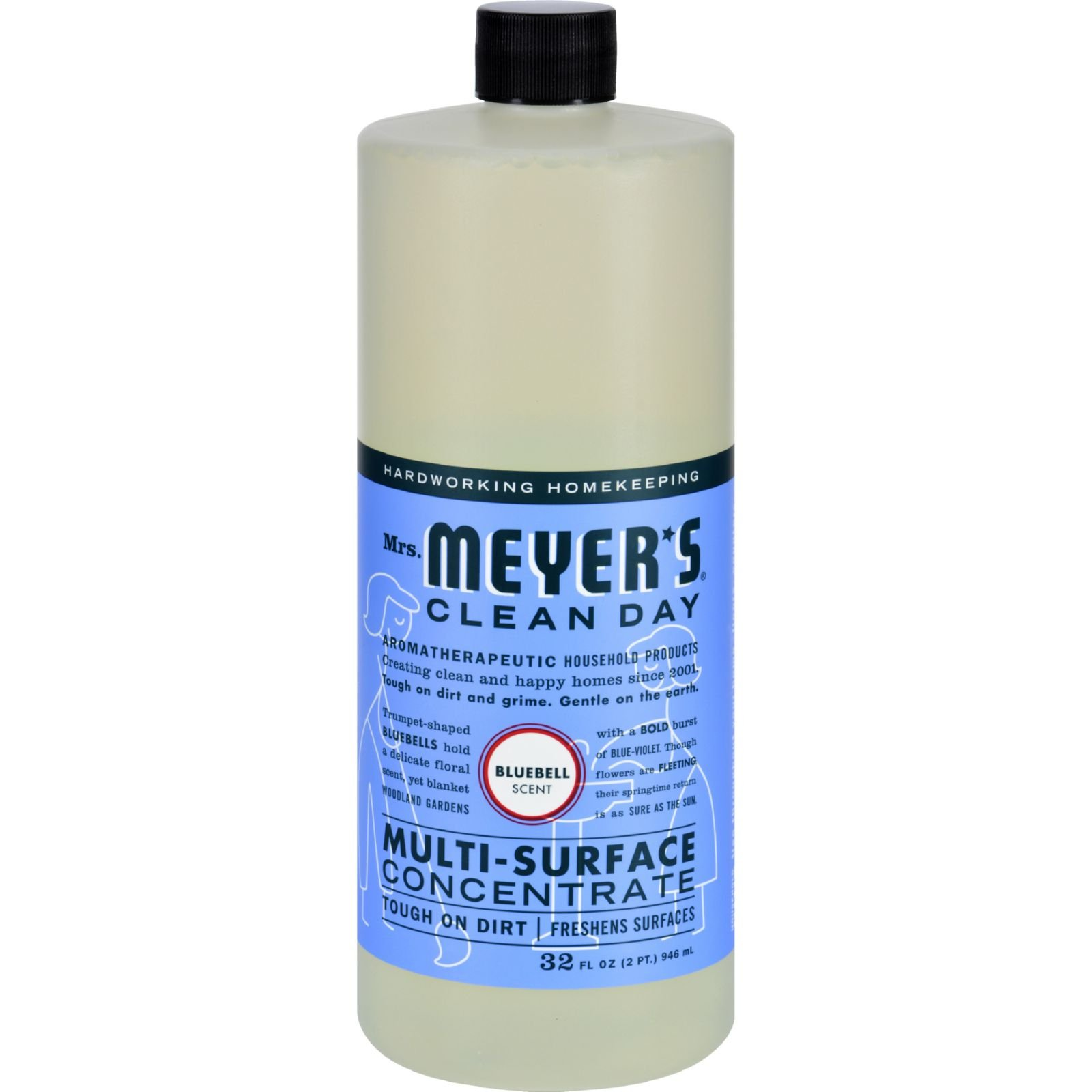 Mrs Meyer S Multi Surface Concentrate Blubell 32 Fl Oz