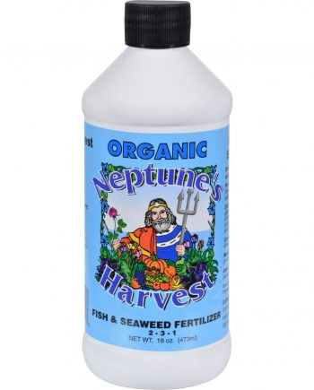 Neptune's Harvest Fish and Seaweed Fertilizer Blend - Blue Label - 18 oz