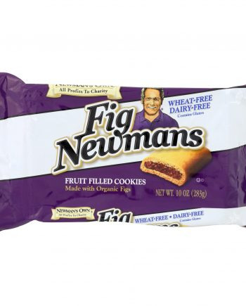 Newman's Own Organics Fig Newman's Wheat Free - Dairy Free - Case of 6 - 10 oz.