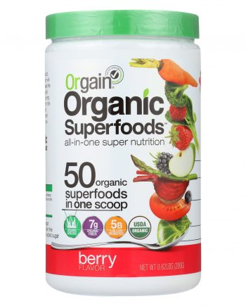 Orgain Organic Hydration Powder - Berry Punch - 0.62 lb.