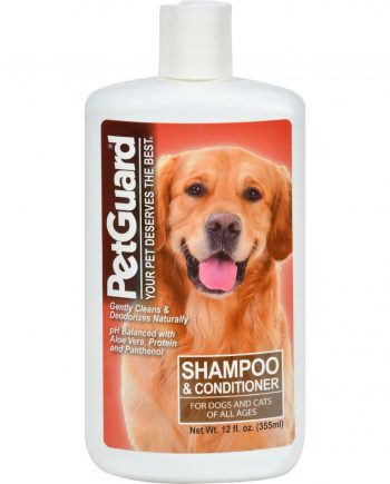 PetGuard Shampoo And Conditioner For Dogs - 12 fl oz