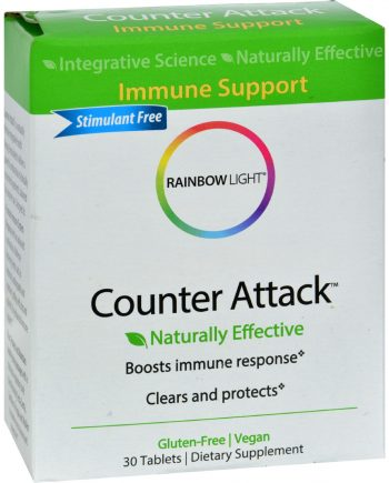 Rainbow Light Counter Attack - 30 Tablets