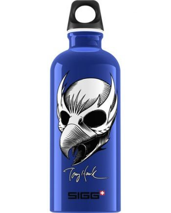 Sigg Water Bottle - Tony Hawk Birdman Blue - .6 Liters