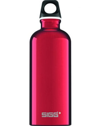 Sigg Water Bottle - Traveller - Red - Case of 6 - .6 Liter