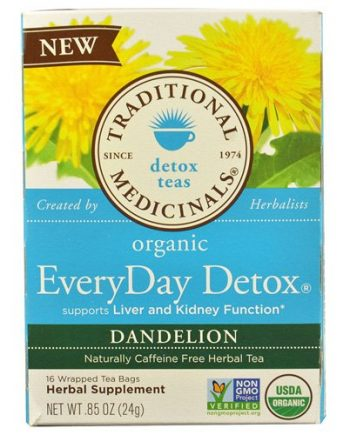 Traditional Medicinals Tea - Organc - EvryDy Detox - Dndln - 16 ct - 1 Case