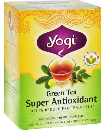 Yogi Tea Green Tea Super Antioxidant - 16 Tea Bags