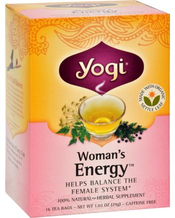 Yogi Tea Woman's Energy - Caffeine Free - 16 Tea Bags