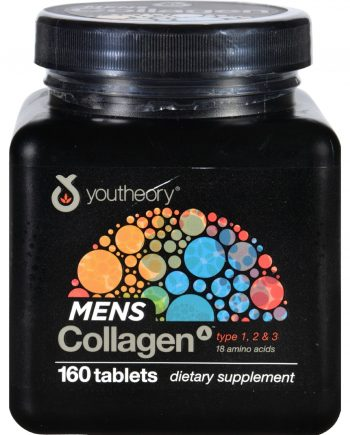 Youtheory Collagen - Mens - Advanced - 160 Tablets