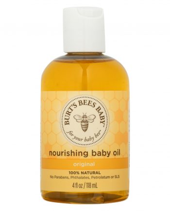 Burts Bees Baby Oil - Nourishing - 4 oz