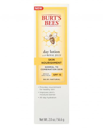 Burts Bees Lotion - Day - Skn Nourishing - Spf15 - 2 fl oz