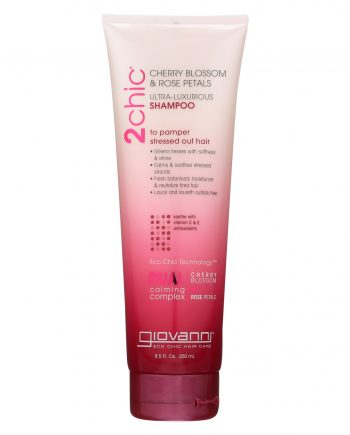Giovanni Hair Care Products 2Chic Shampoo - Cherry Blossom and Rose Petals - 8.5 fl oz