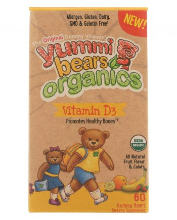 Hero Nutritional Products Organic Vitamin D3 - 60 count