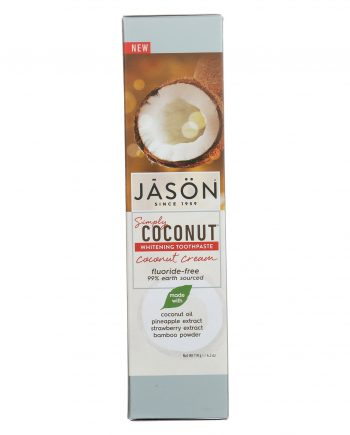 Jason Natural Products Whitening Toothpaste - Coconut Cream - 4.2 oz