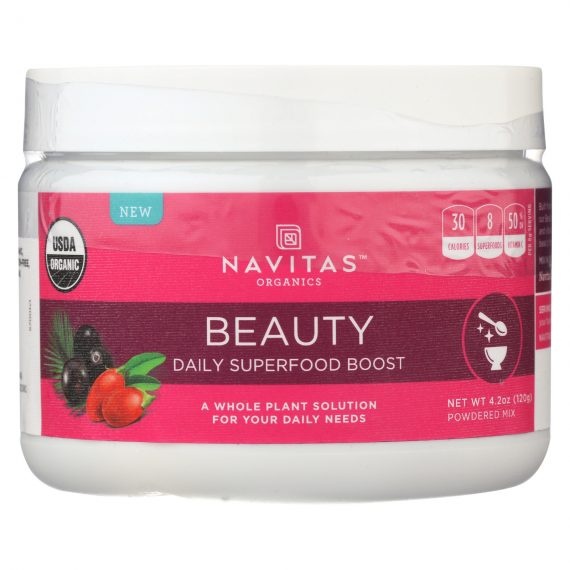 Navitas Naturals Organic Daily Superfood Boost - Beauty - 4.2 oz