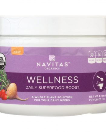 Navitas Naturals Organic Daily Superfood Boost - Wellness - 4.2 oz