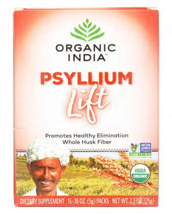 Organic India Lift Box - Psyllium - 15 count