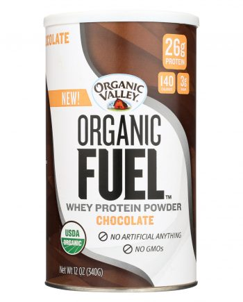 Organic Valley Organic Fuel Whey Protein Powder - Chocolate - 12 oz