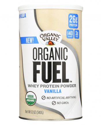 Organic Valley Organic Powder - Vanilla Fuel - 12 oz