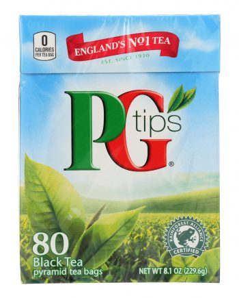 PG Tips Black Tea - Pyramid - 80 Bags
