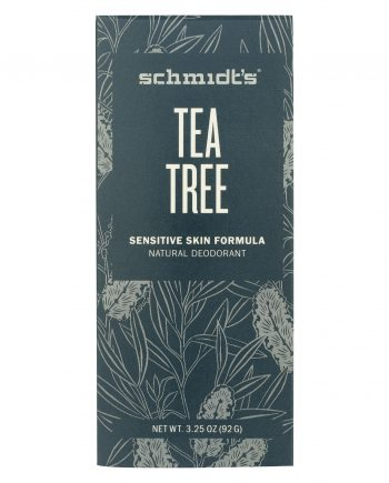 Schmidt's Deodorant Stick - Tea Tree - Sensitive - 3.25 oz