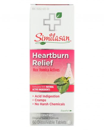 Similasan Heartburn Relief - 60 TAB