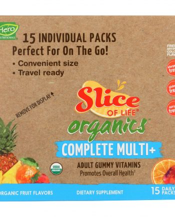 Slice of Life Organics Multi-Vitamin - Organic - Complet - 15 count