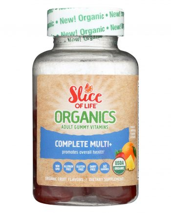 Slice of Life Organics Slice of Lfe - Organic - Multi Pls - 60 count