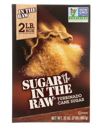 Sugar in The Raw Cane Sugar - 100% Natural - 2 lb.