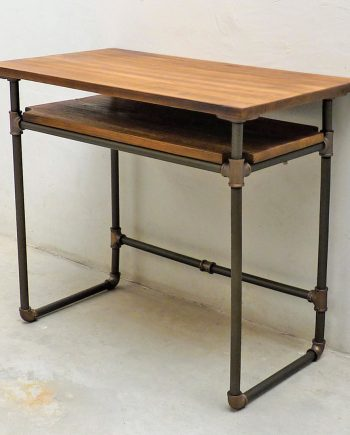 Berkeley Industrial Mid-Century Writing Desk