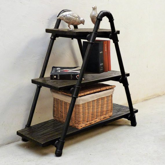 Charleston Industrial Chic Display Bookcase