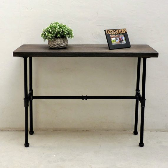Corvallis Industrial Chic Console Table