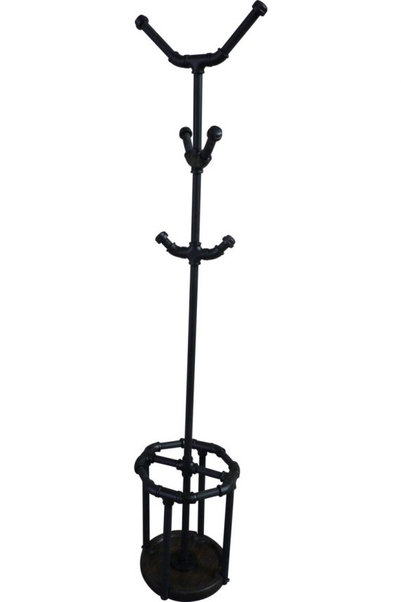 San Antonio Industrial Chic Coat Rack